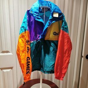 Vintage BC Games Nylon Jacket Large